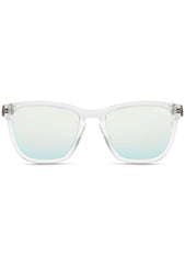 Quay Australia Hardwire Sunglasses in Clear Lime