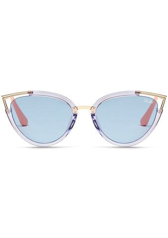 Hearsay Sunglasses in Clear/Blue
