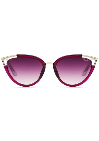 Hearsay Sunglasses in Red/Purple Fade