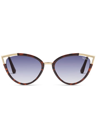 Hearsay Sunglasses in Tortoise/Navy