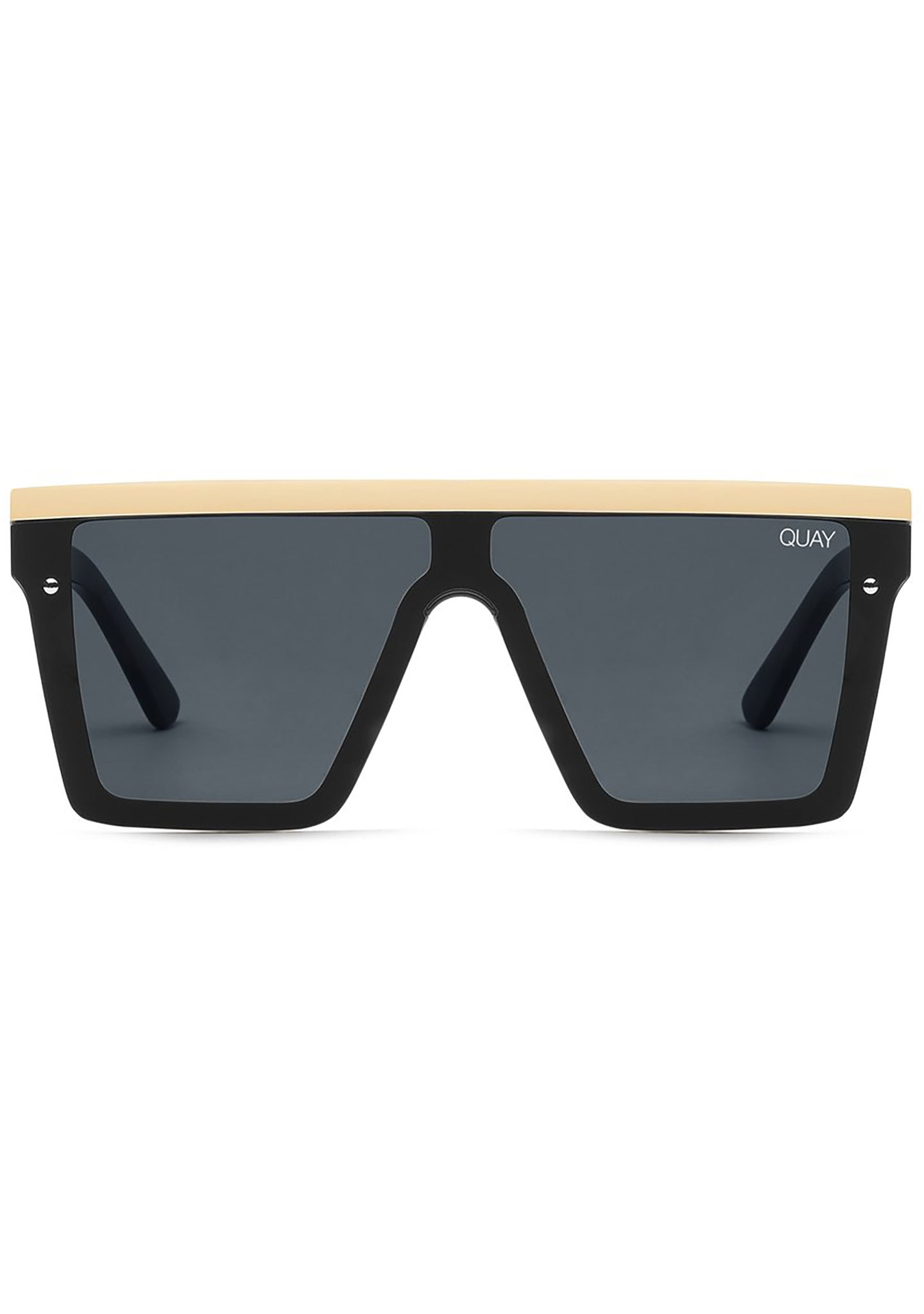 Hindsight Sunglasses in Black/Gold