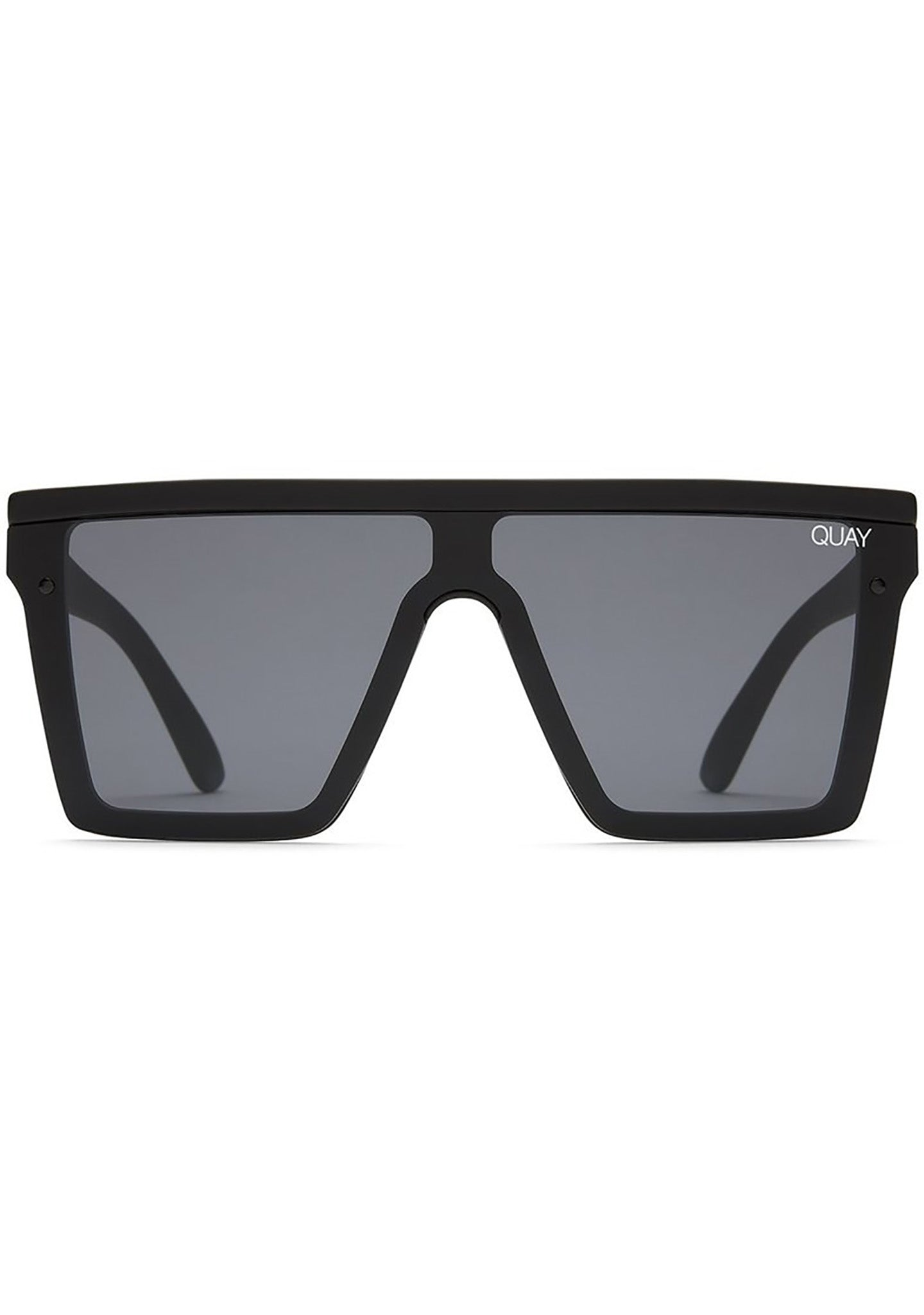 Hindsight Sunglasses in Black/Smoke