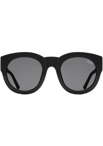 If Only Sunglasses in Black/Smoke