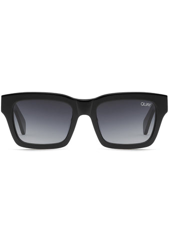 In Control Sunglasses in Black/Smoke