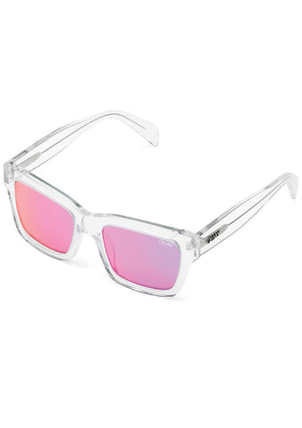 In Control Sunglasses in Clear/Pink