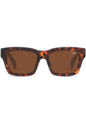 In Control Sunglasses in Matte Tortoise