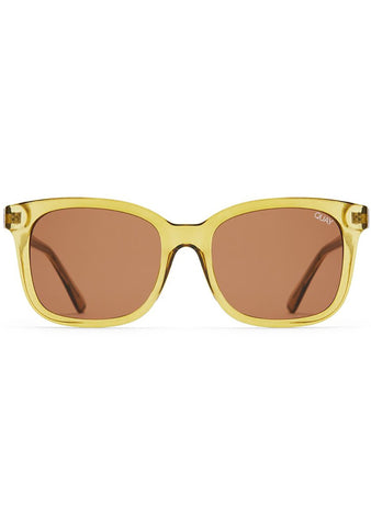 Kingsley Sunglasses in Olive Green/Brown
