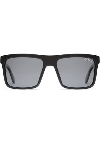 Let It Run Sunglasses in Black/Smoke