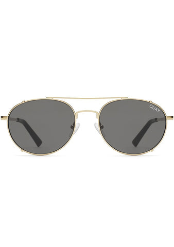 Little J Sunglasses in Gold/Smoke