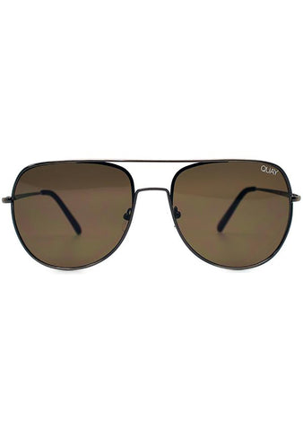 Quay Australia Living Large Sunglasses in Bronze