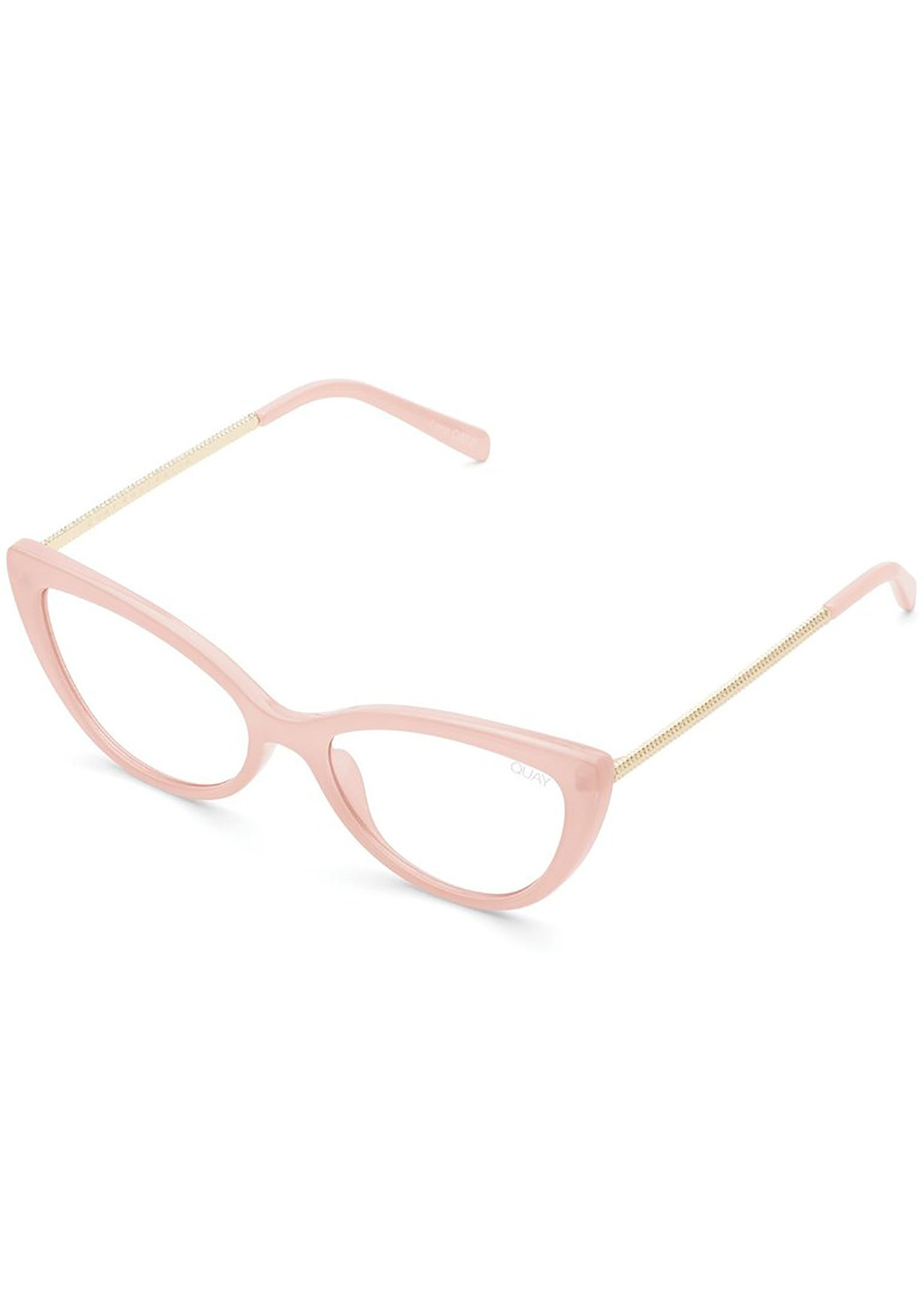 X JLO Lustworthy Bluelight Glasses in Pink