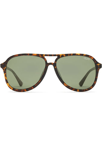 Magnetic Sunglasses in Tortoise/Green