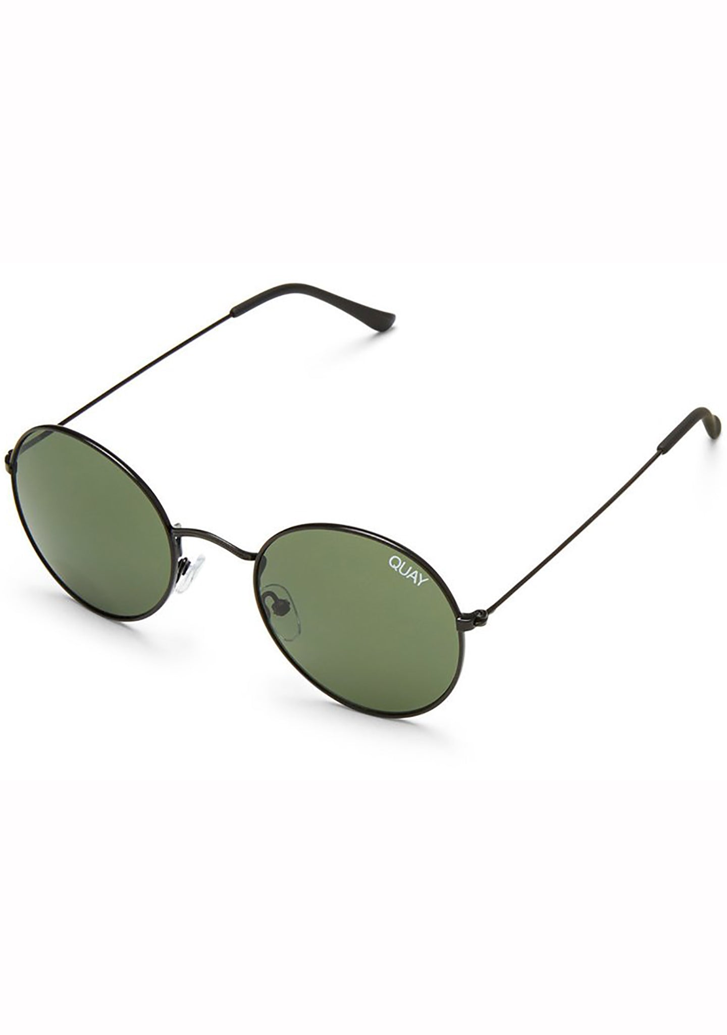 Quay Australia Mod Star Sunglasses in Black