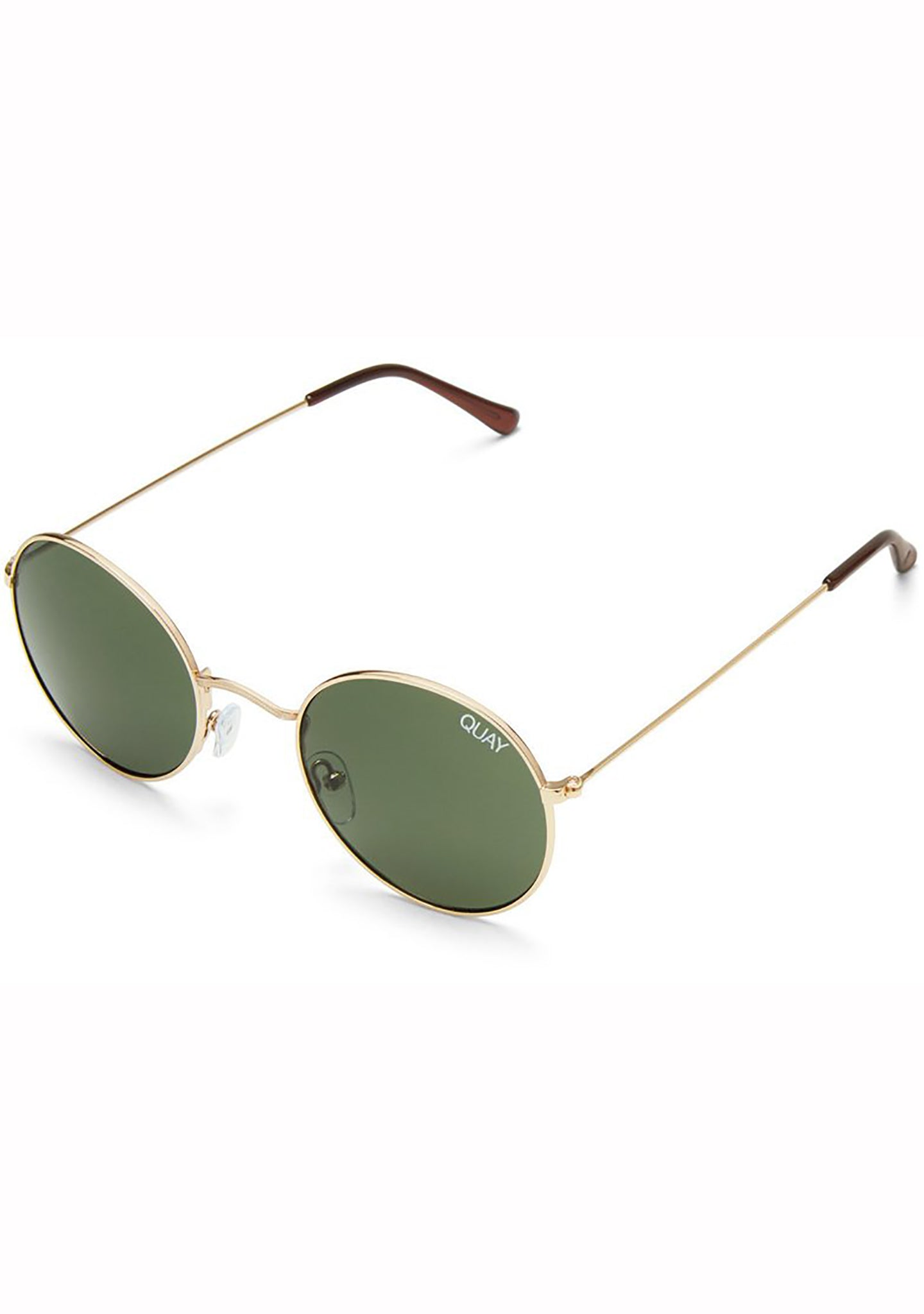 Quay Australia Mod Star Sunglasses in Gold