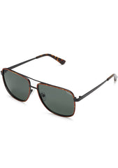 Modern Times Sunglasses in Tortoise/Green