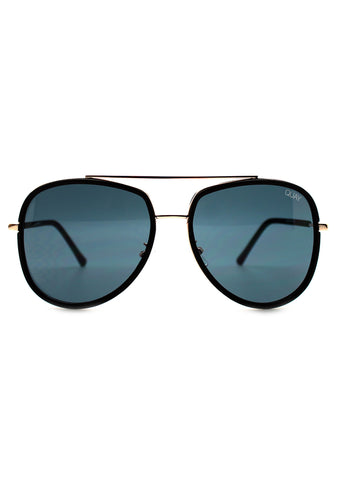 Quay Australia Needing Fame Sunglasses in Black
