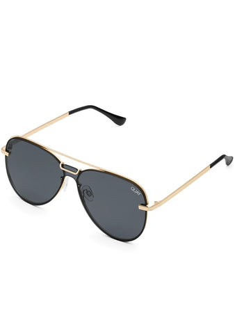 Notorious Sunglasses in Gold Smoke