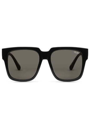 On The Prowl Sunglasses in Black/Smoke