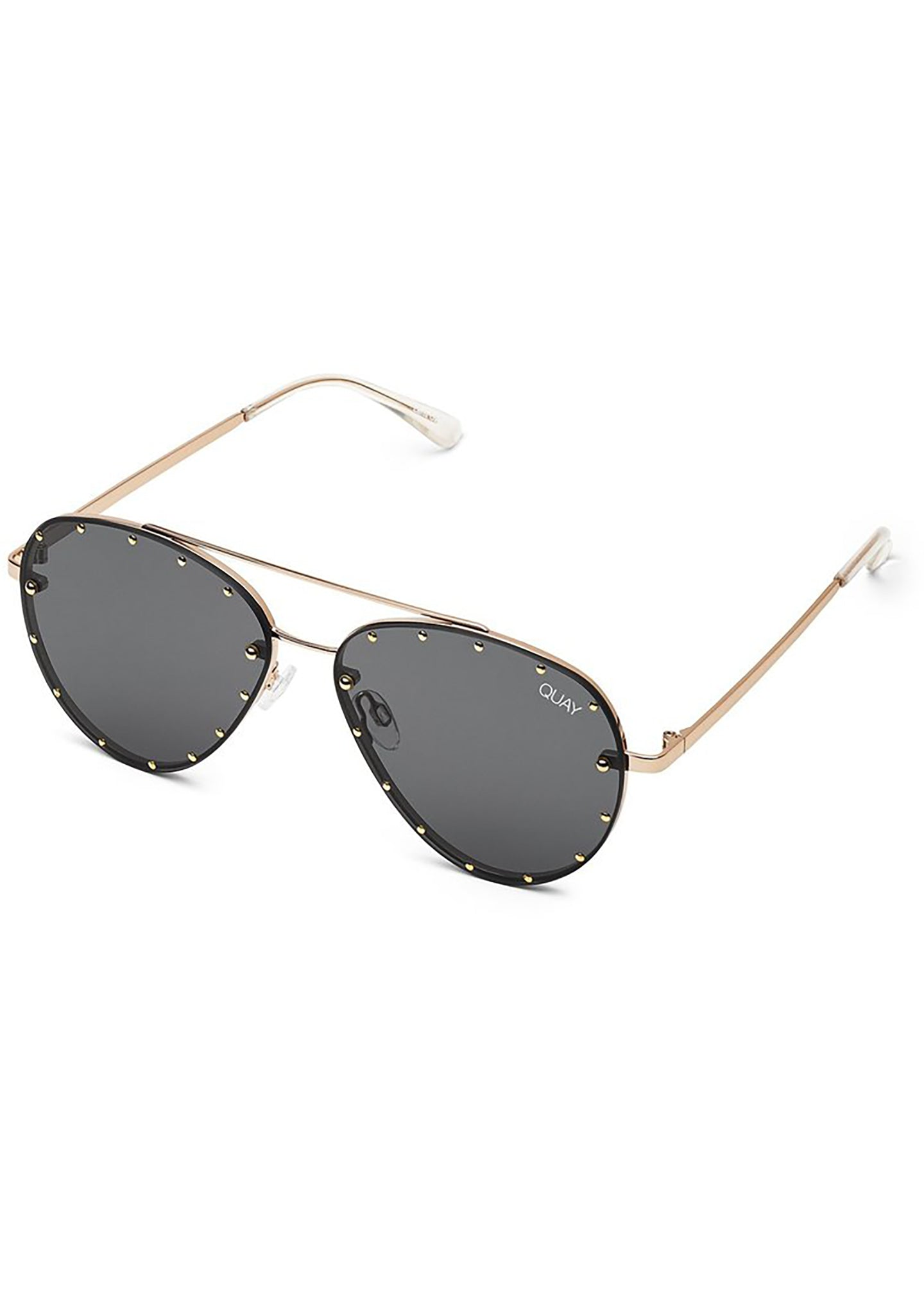 ef18dcb594d5a X Jaclyn Hill Roxanne Sunglasses in Gold Black