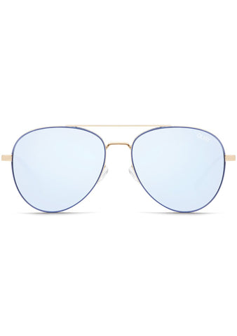 Single Sunglasses in Blue Violet