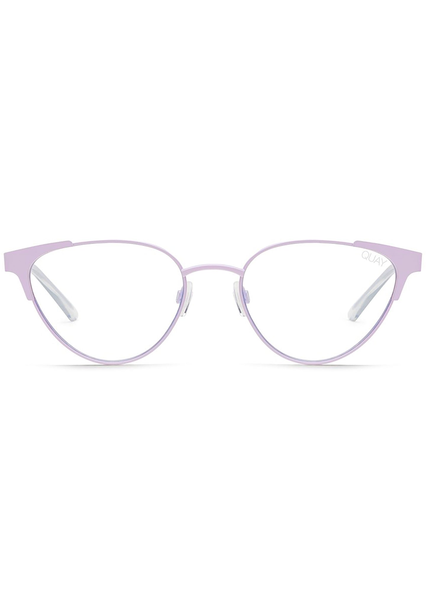 Blue Light Song Bird Glasses in Lavender/Clear