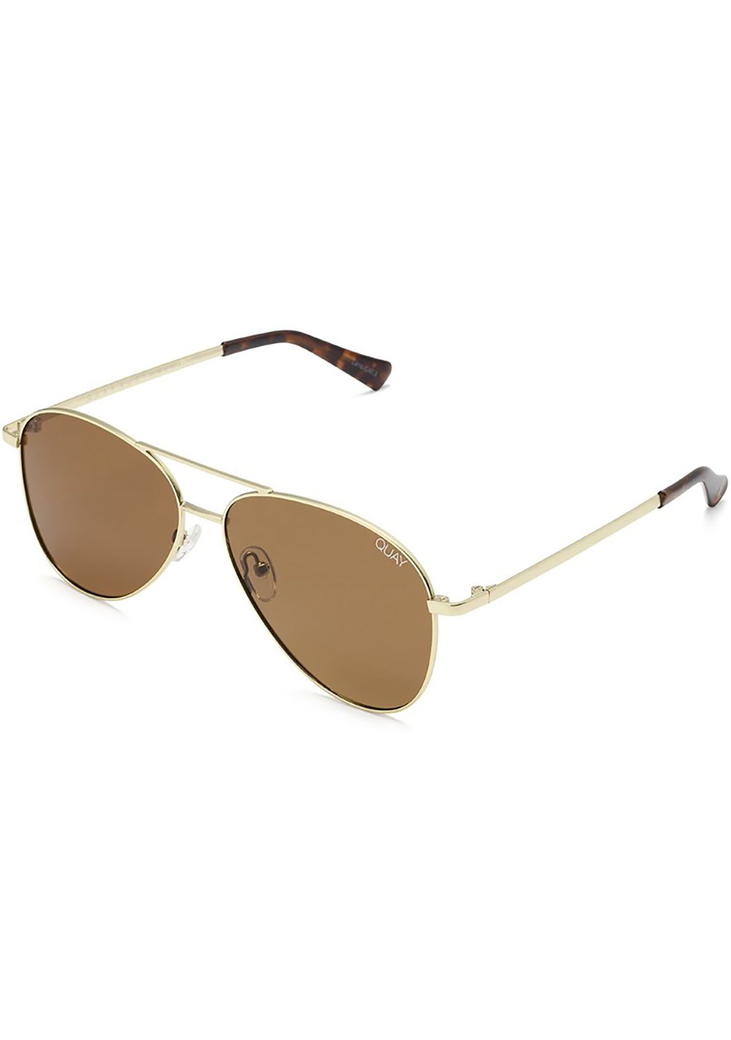 Still Standing Sunglasses in Gold/Brown