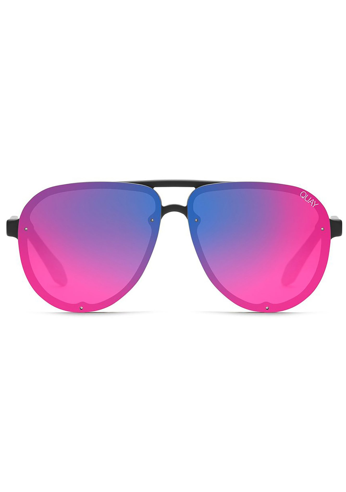 Tricky Sunglasses in Black/Pink