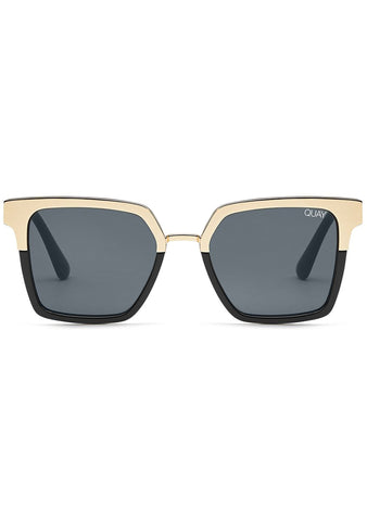 X Jaclyn Hill Upgrade Sunglasses in Black/Gold