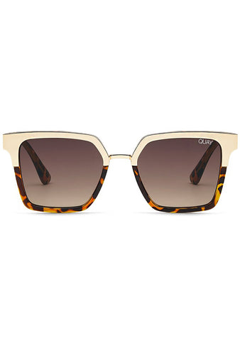 X Jaclyn Hill Upgrade Sunglasses in Tortoise Brown