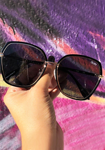 Verve Sunglasses in Black Smoke