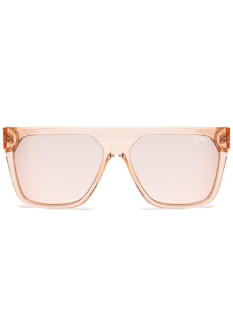 X Jaclyn Hill Very Busy Sunglasses in Champagne/Rose