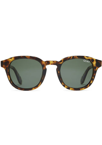 Walk On Sunglasses in Tortoise/Green