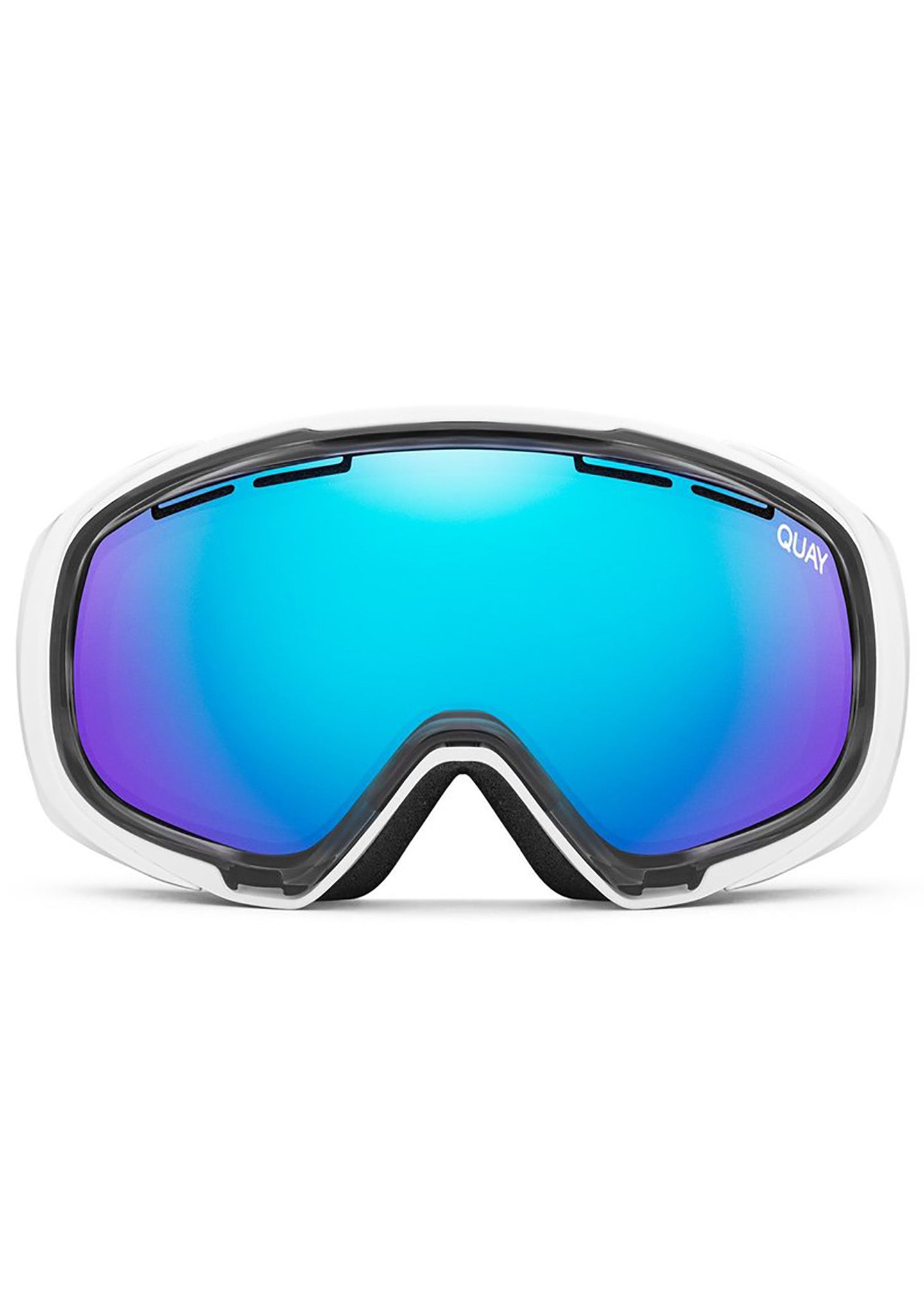 White Out Goggles in White/Purple