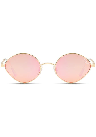 Wild Night Sunglasses in Gold Peach