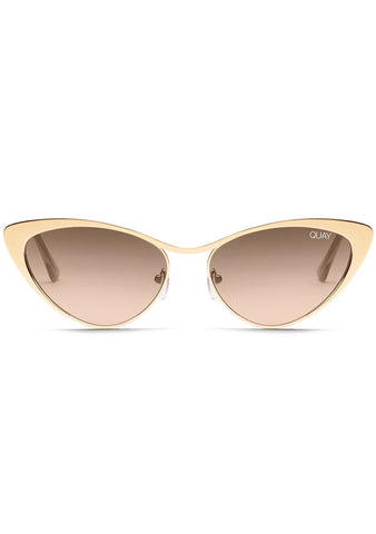 x Alissa Violet BO$$ Sunglasses in Gold/Brown