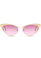 x Alissa Violet BO$$ Sunglasses in Gold/Purple