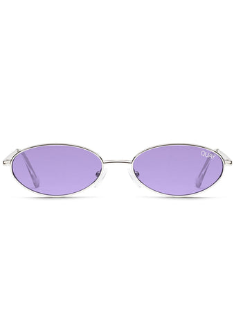 x Alissa Violet Clout Sunglasses in Silver/Violet