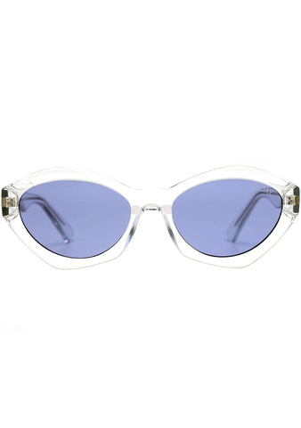 Quay Australia X Kylie Jenner As If! Sunglasses in Clear/Purple