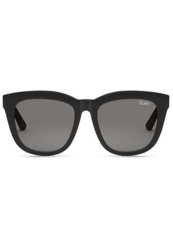 Zeus Sunglasses in Black/Smoke Flash