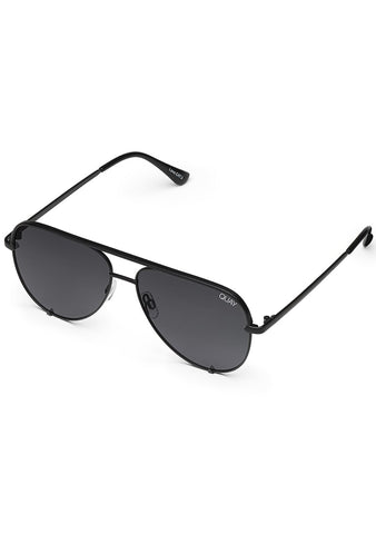 X Desi Perkins High Key Sunglasses in Polarized Black/Smoke