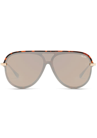 X JLO Empire Sunglasses in Tortoise Brown