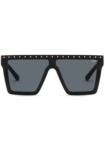 X JLO Hindsight Sunglasses in Black Gold Stud