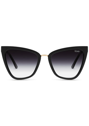 X JLO Reina Sunglasses in Black Fade