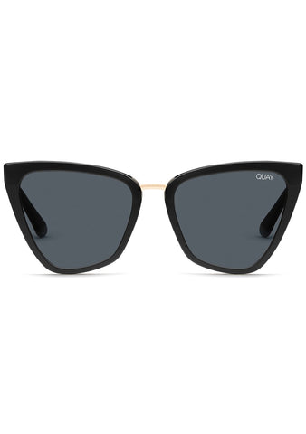 Quay Australia X JLO Reina Sunglasses in Black Smoke
