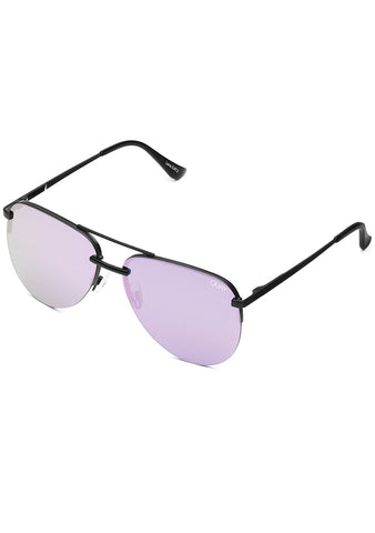 X JLO The Playa Sunglasses in Black Purple