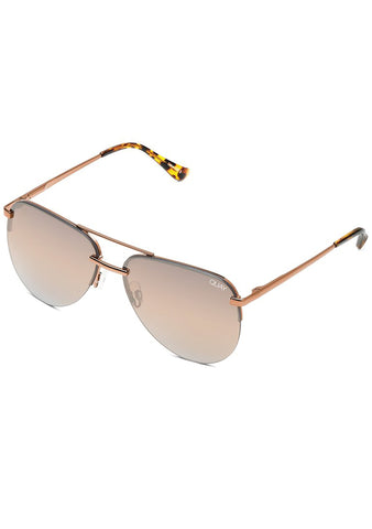 X JLO The Playa Sunglasses in Bronze Brown