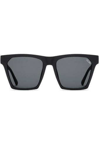 X Missguided Alright Sunglasses in Black/Smoke