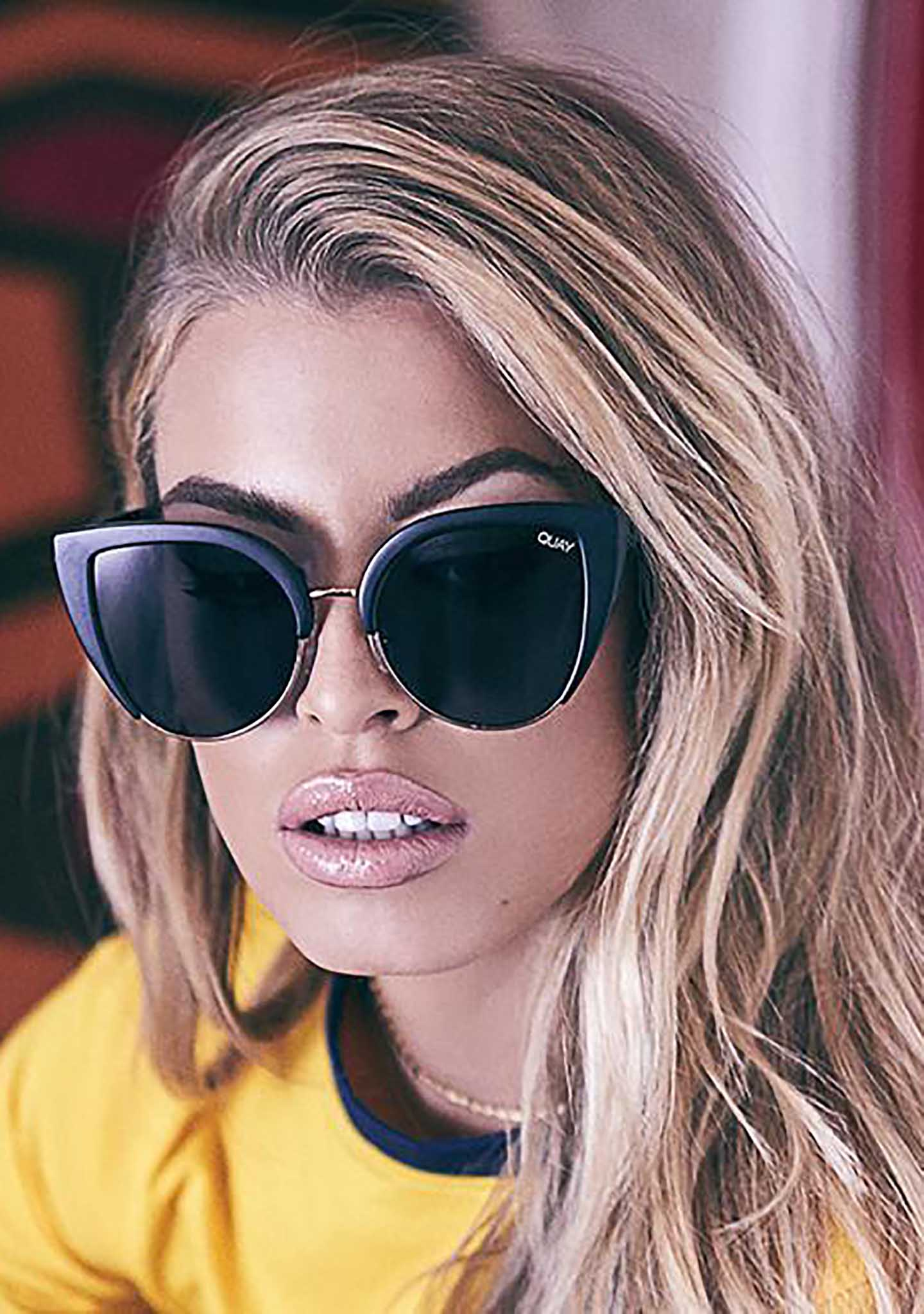 8d7aa51ead6 X Missguided Oh My Dayz Sunglasses in Black Smoke