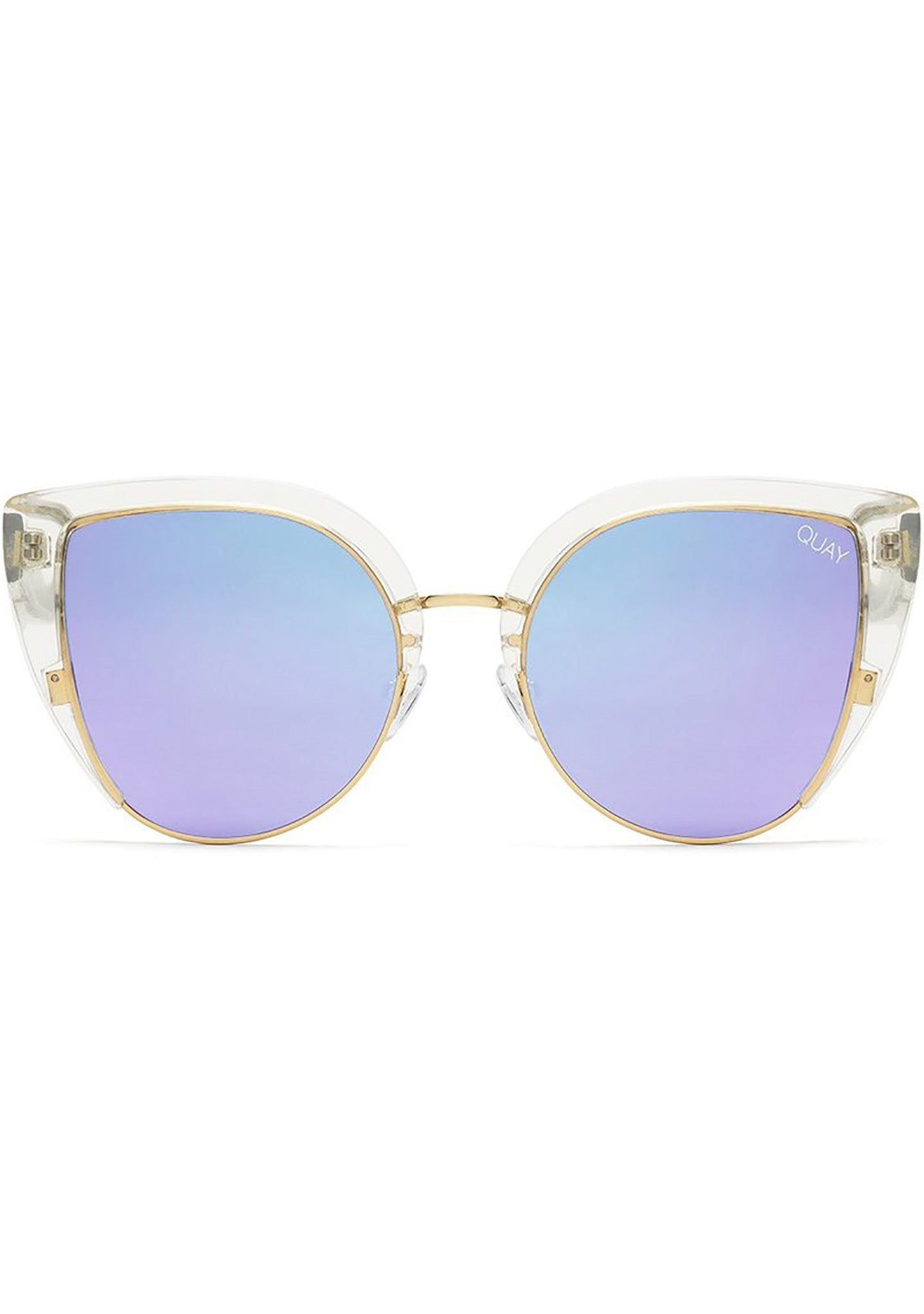 0fef45c169 X Missguided Oh My Dayz Sunglasses in Clear Purple