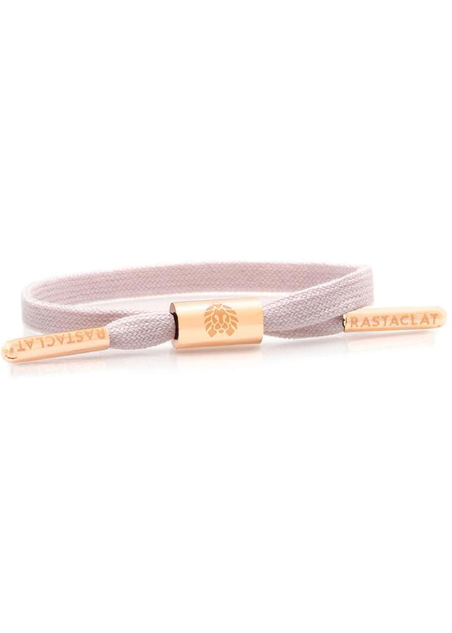 Mary Women's Single Lace Bracelet in Pink/Rose Gold